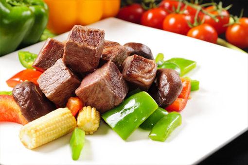 圖片 草飼無激素全血和牛牛肉粒 140g